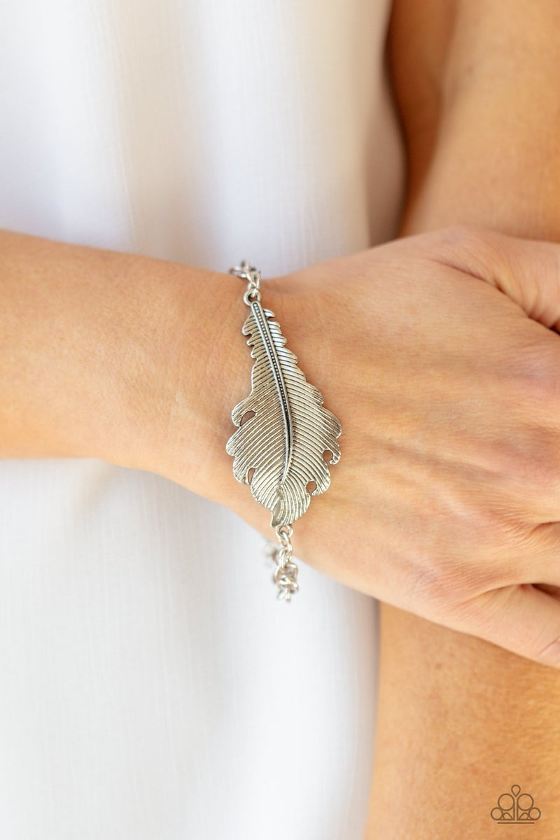Rustic Roost - Silver Clasp Bracelet