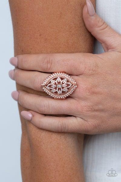 Glammed Up Gardens - Copper Ring