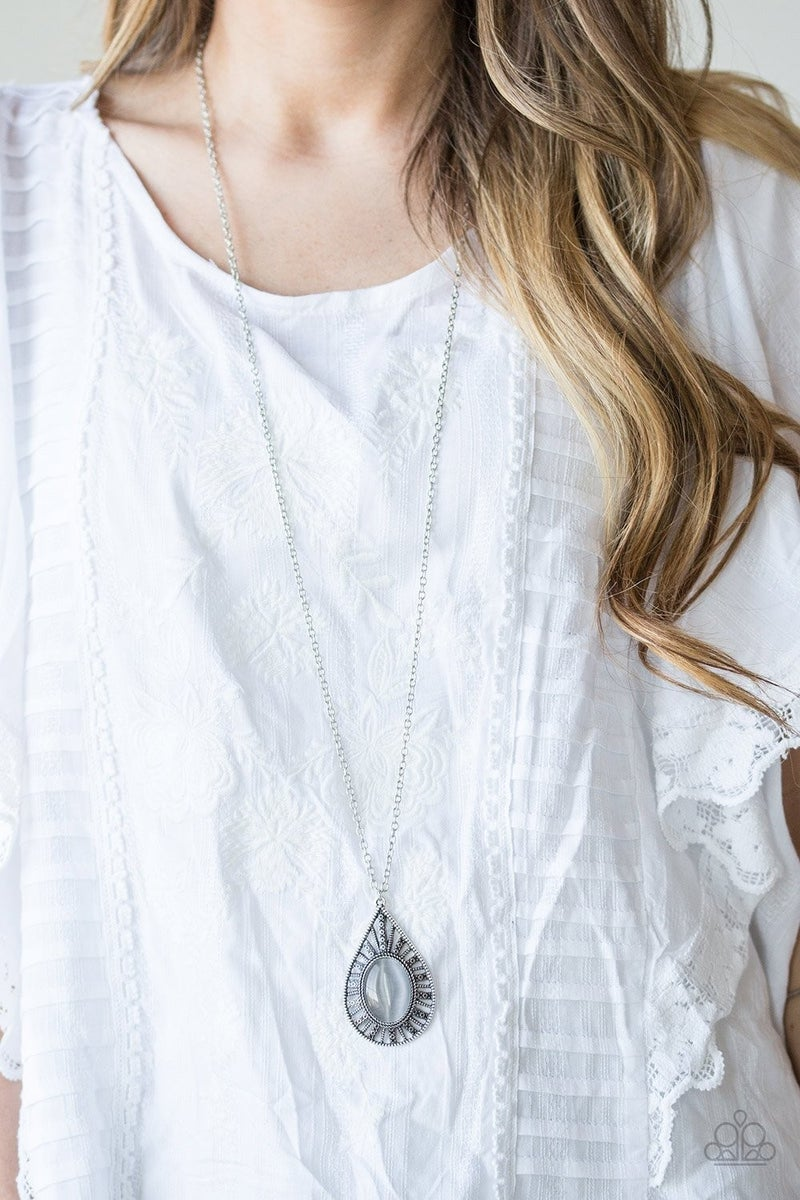Total Tranquility - Silver Necklace