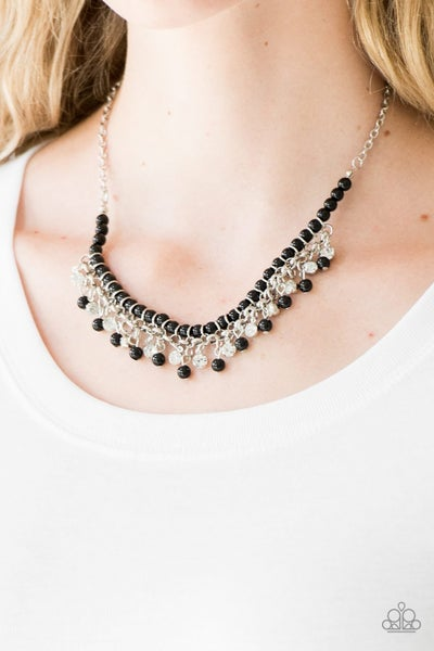 A Touch of CLASSY - Black Necklace
