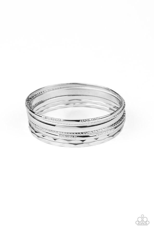 Top Of The Heap - Silver Bangles