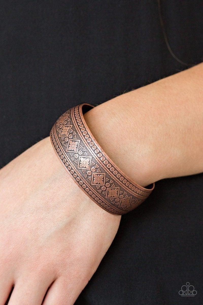 Gorgeously Gypsy - Copper Cuff