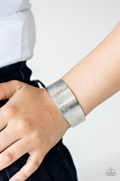 Mixed Vibes - Silver Cuff