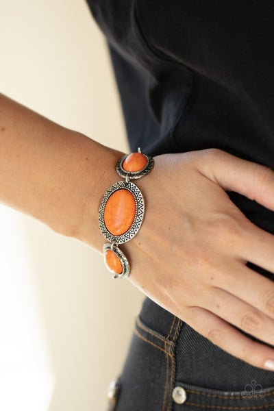 MESA Time Zone - Orange Clasp Bracelet