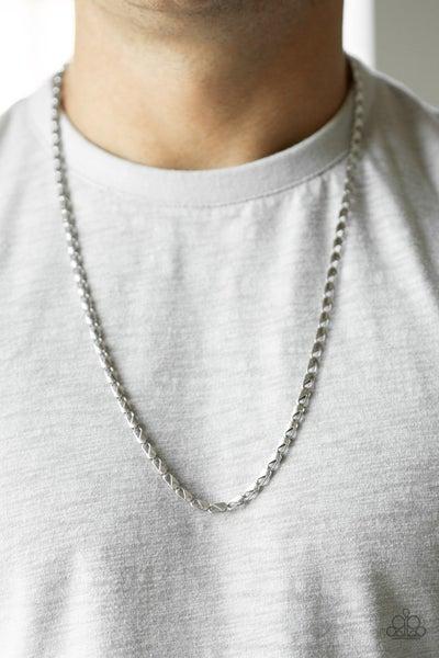 Free Agency - Silver Men's Necklace
