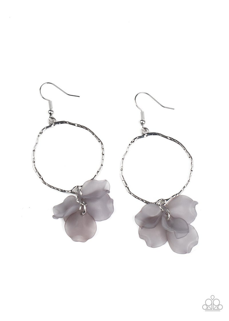 Petals On The Floor - Silver Earrings