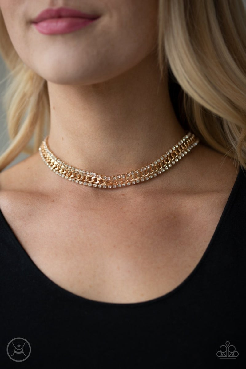 Empo-HER-ment  - Gold Choker
