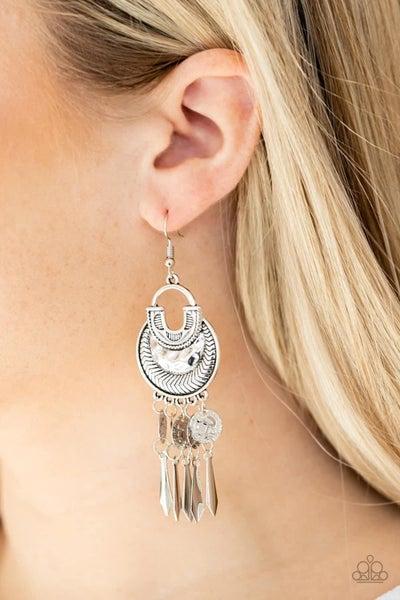 Give Me Liberty - Silver Earrings