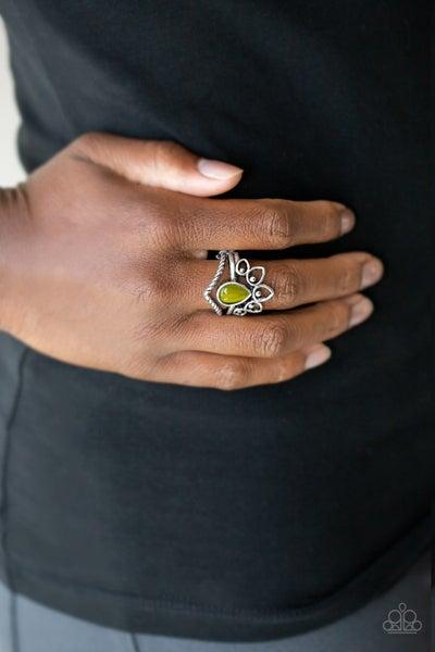 Serene Scene - Green Ring