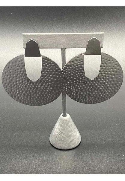 Bold Intentions - Gunmetal Earrings
