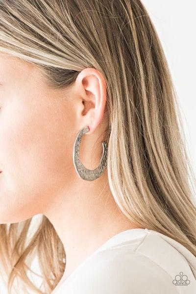 The HOOP Up - Silver Hoop Earrings
