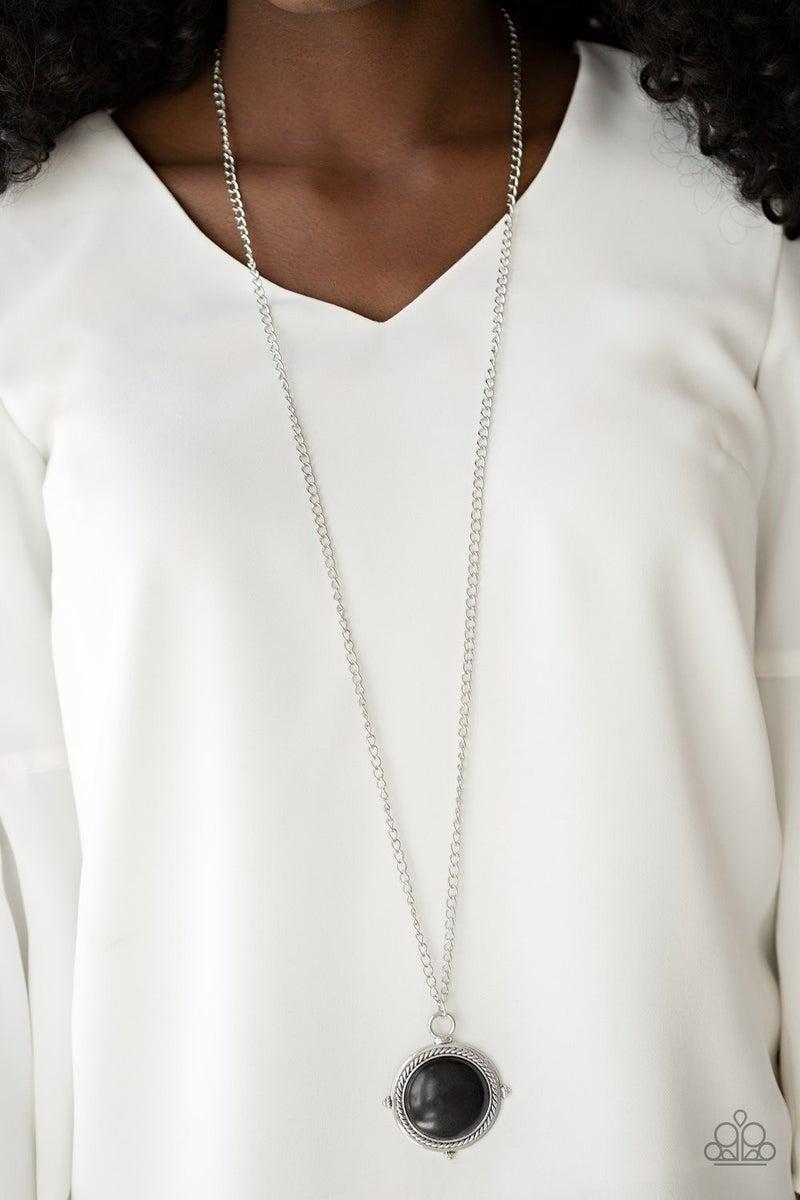 Desert Equinox - Black Necklace