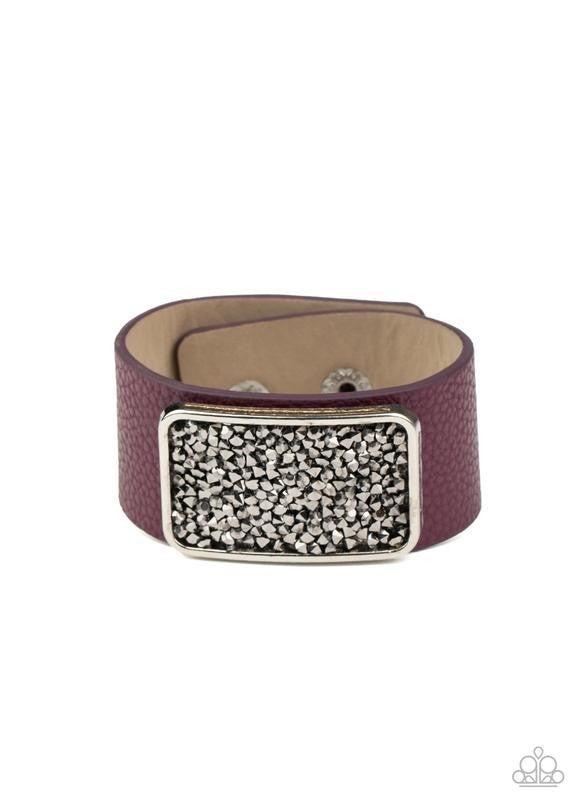 Interstellar Shimmer - Purple Snap Wrap