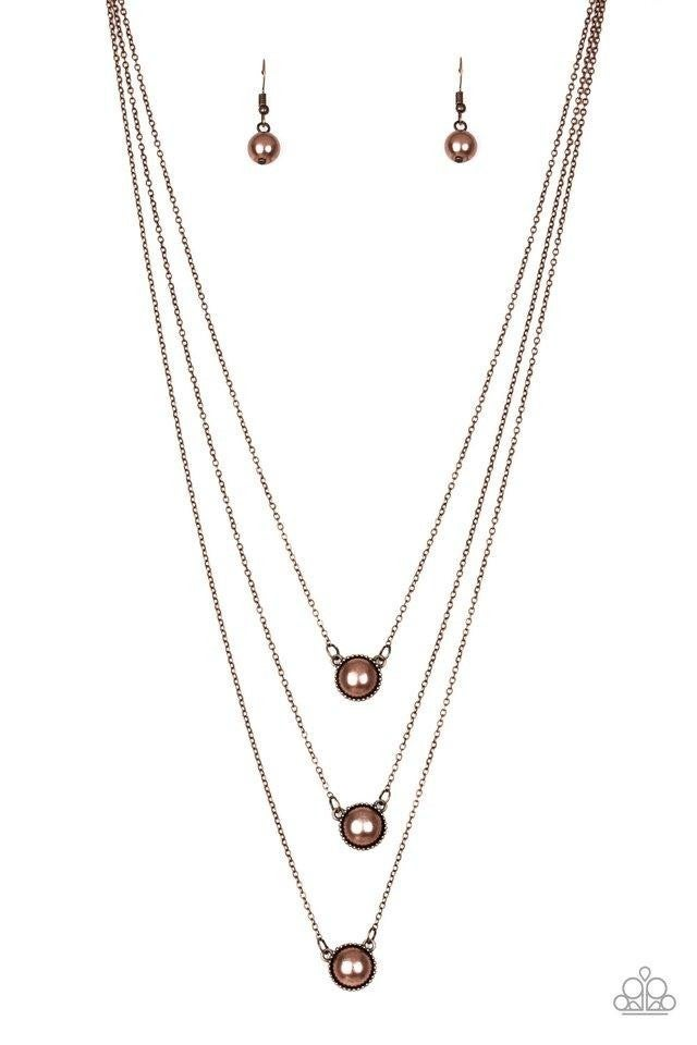 A Love for Luster - Copper Necklace