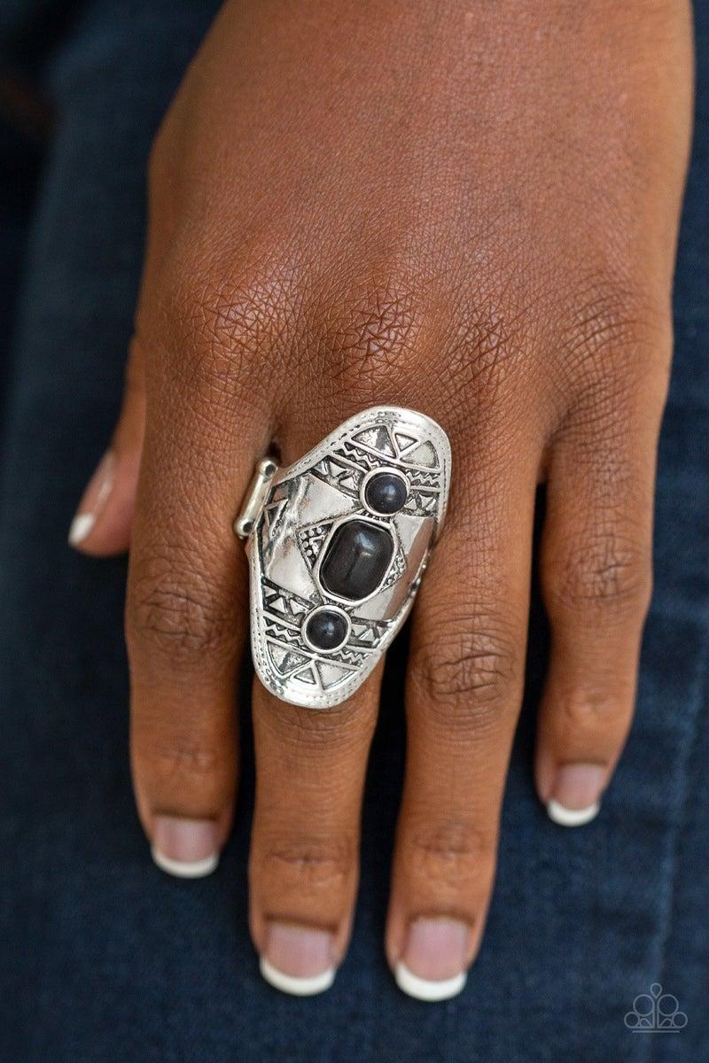 Desert Paint - Black Ring