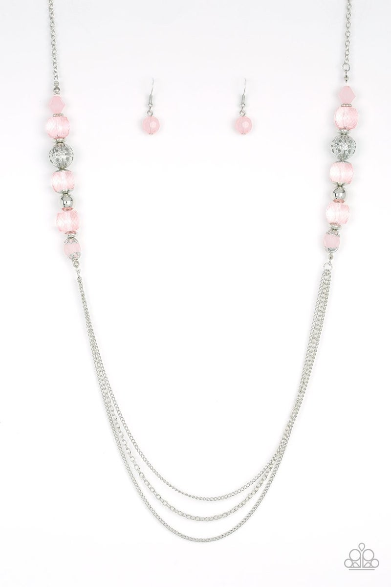Native New Yorker - Pink Necklace