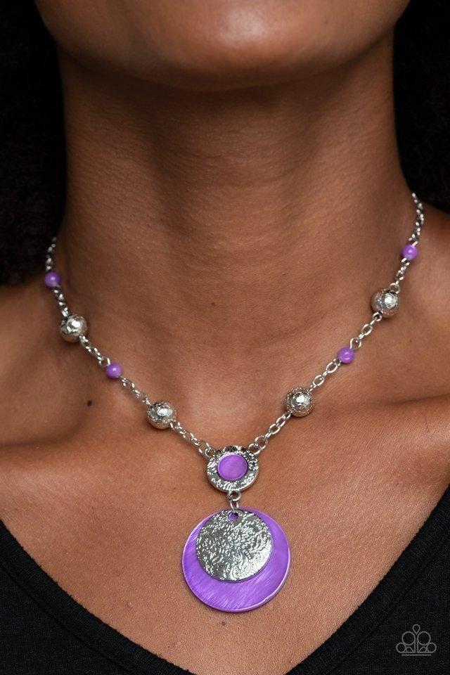 SEA The Sights - Purple Necklace