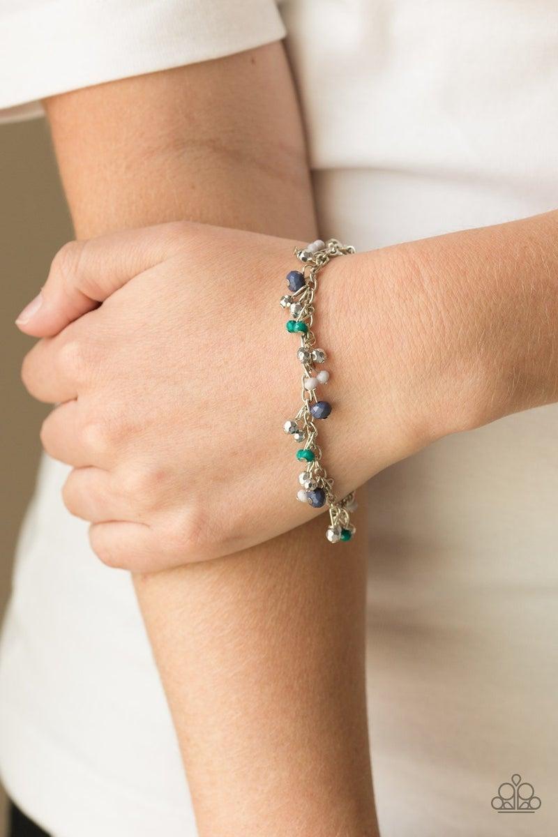 Aquatic Adventure - Blue Clasp Bracelet