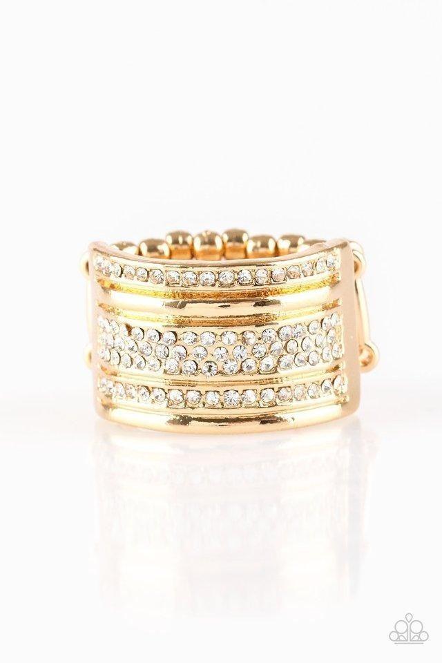 Top Dollar Drama - Gold Ring