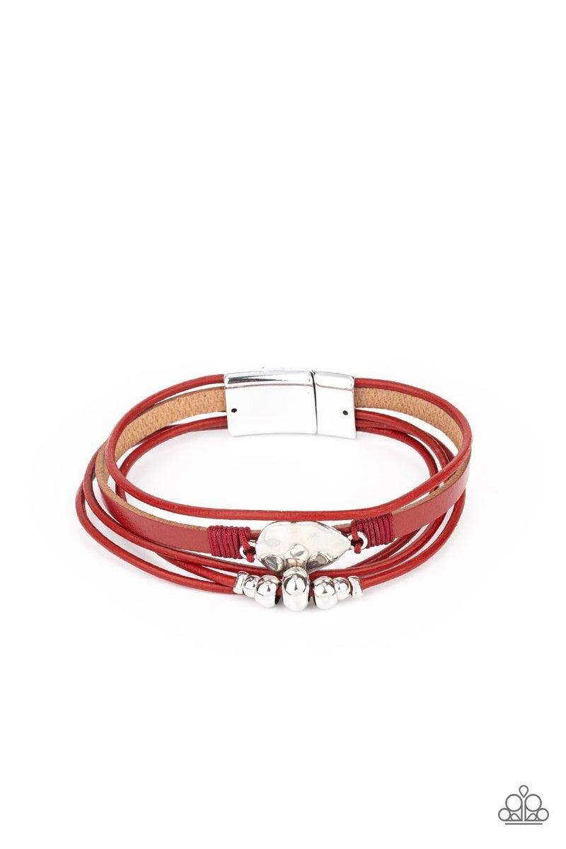Tahoe Tourist - Red Magnetic Bracelet