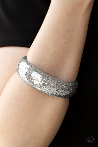 Tread Lightly - Silver Bangles