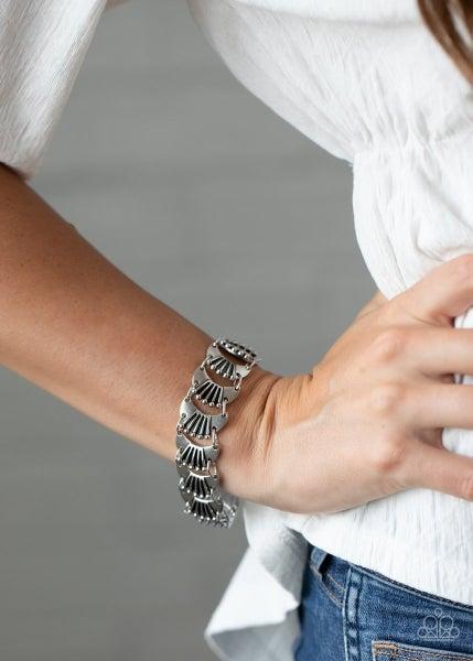 Moonlit Mesa - Silver Clasp Bracelet