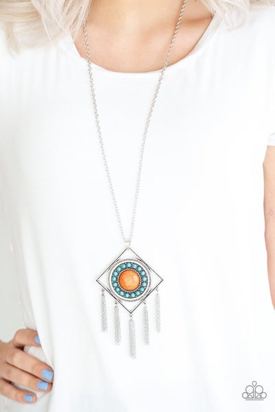 Sandstone Solstice - Multi Necklace