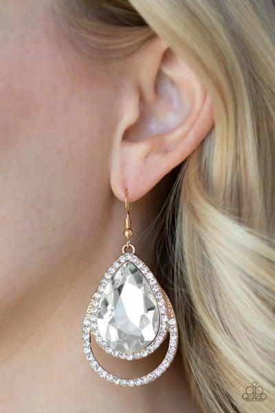 Famous - Gold Earrings