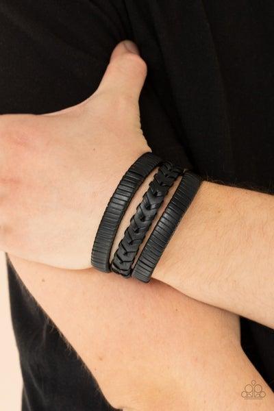 Rogue Roamer - Black Urban Bracelet
