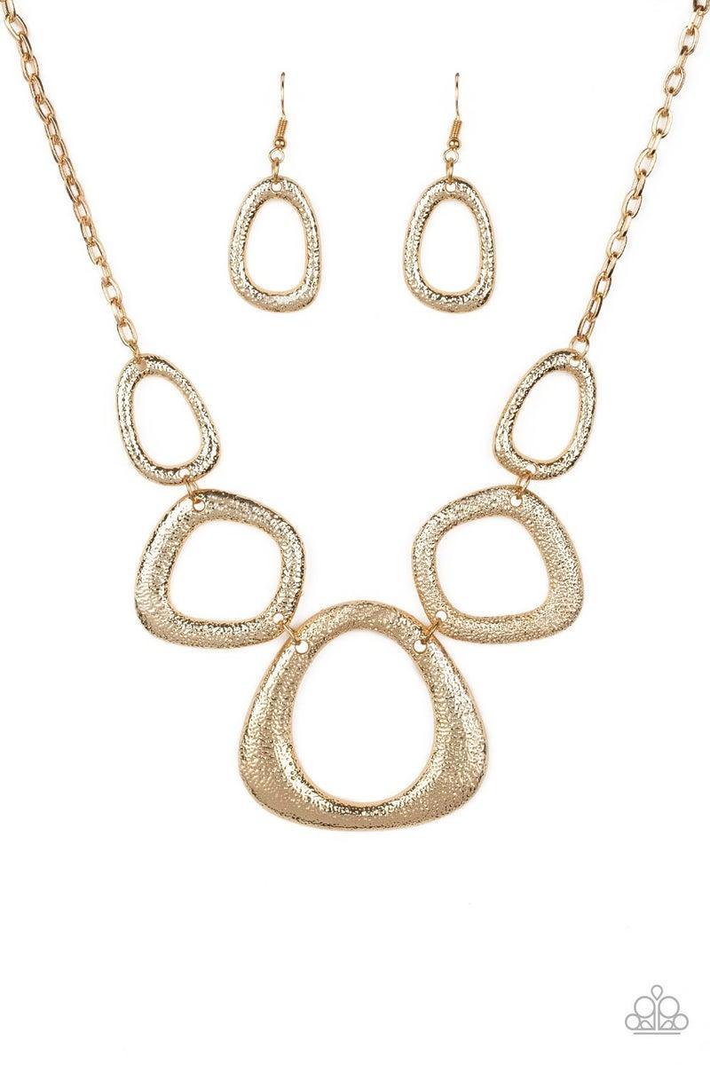 Backstreet Bandit - Gold Necklace