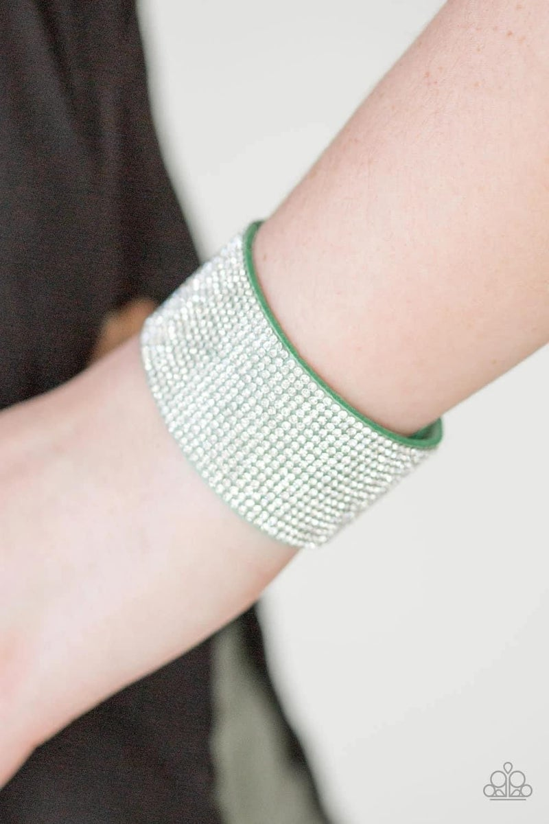 Roll With The Punches - Green Snap Wrap