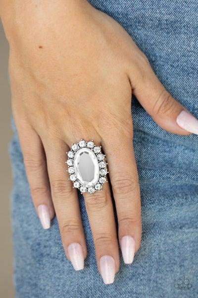 Bling Of All Bling - White Ring