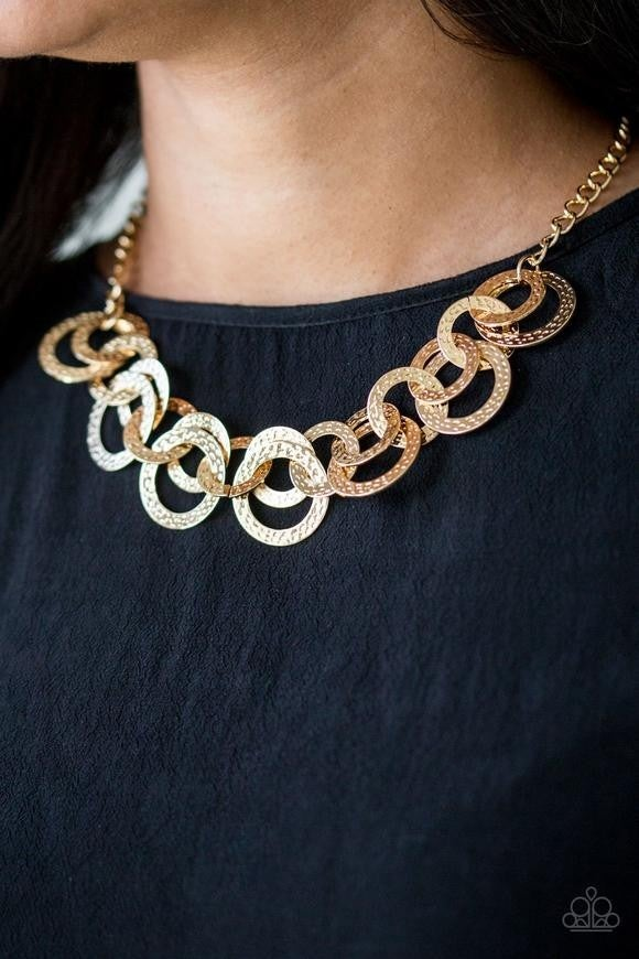 Treasure Tease - Gold Necklace