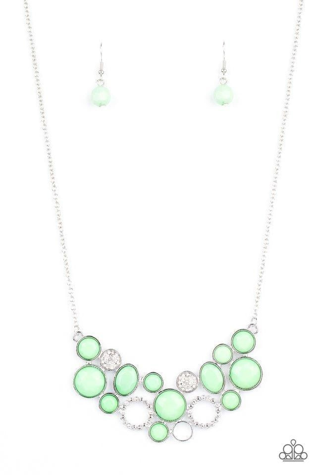Extra Eloquent - Green Necklace