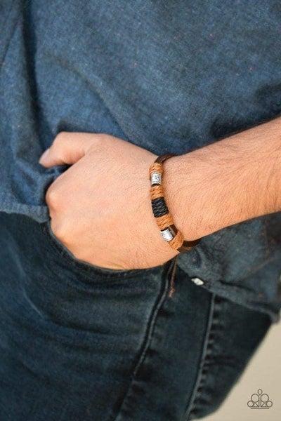 Tundra Trail - Brown Urban Bracelet