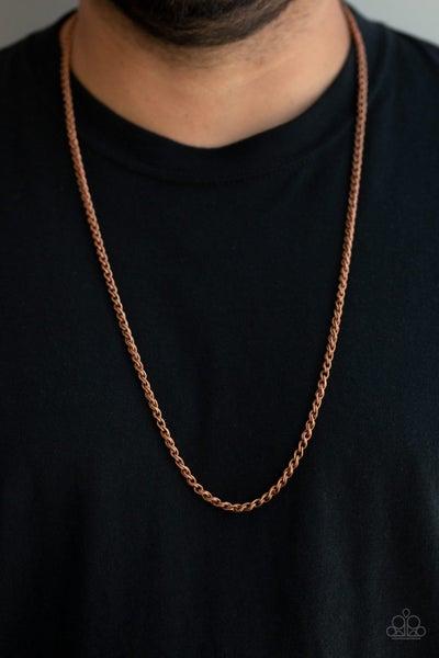 Jump Street - Copper Men's Necklace