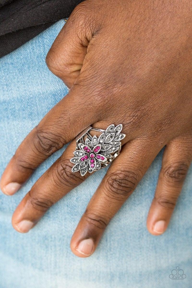 Formal Floral - Pink Ring