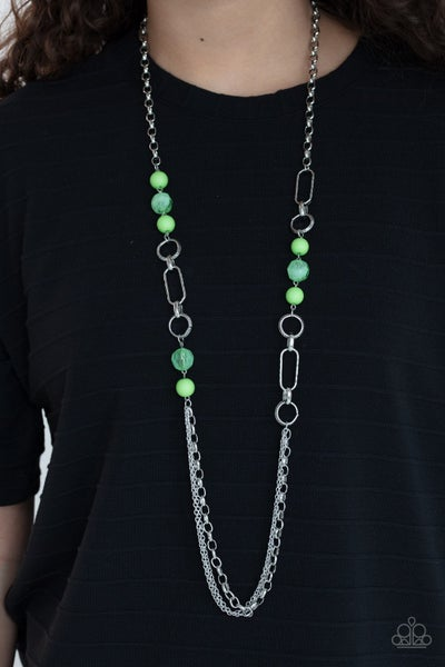 POP-ular Opinion - Green Necklace