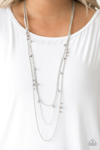 Laying The Groundwork - Silver Necklace