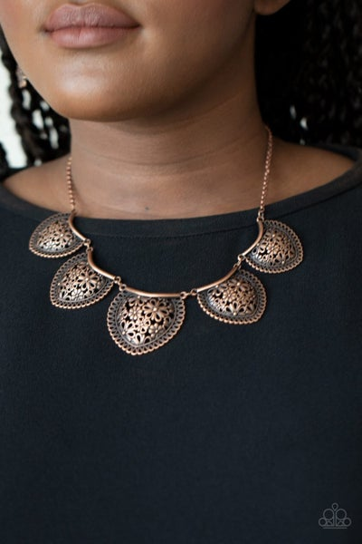Garden Pixie - Copper Necklace