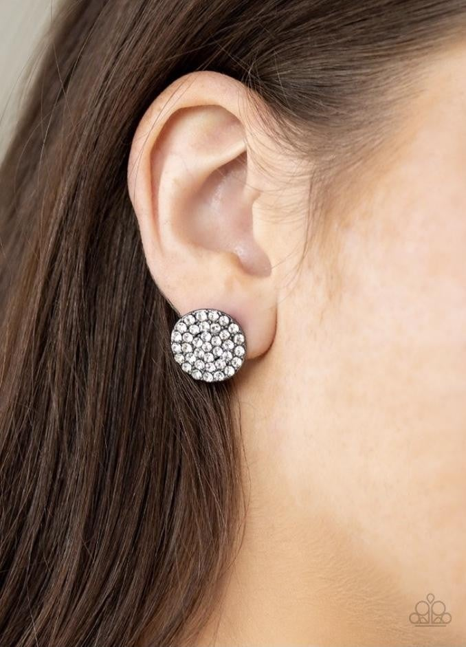 Greatest Of All Time - Gunmetal Earrings