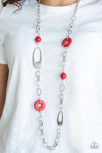 Artisan Artifact - Red Necklace