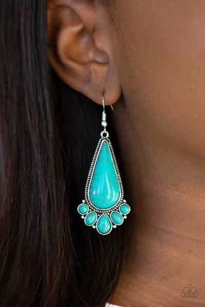 Rural Recluse - Blue Earrings