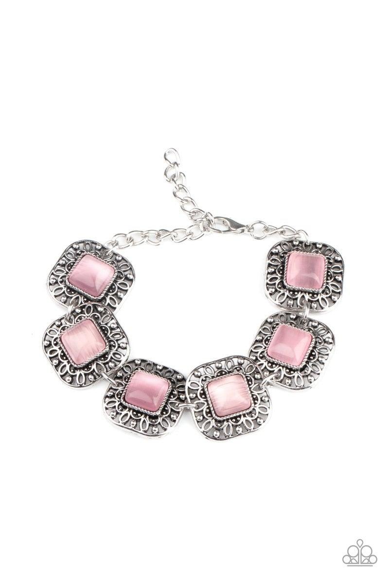 Dreamy Destinations - Pink Clasp Bracelet