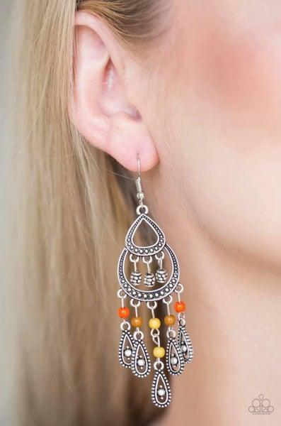 Eastern Excursion - Multi Earrings