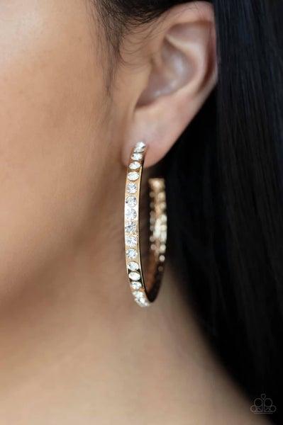 Global Gleam - Gold Hoop Earrings