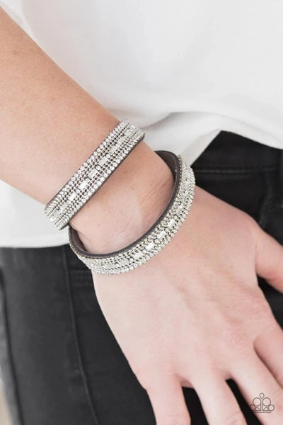 Shimmer and Sass - Silver Snap Wrap