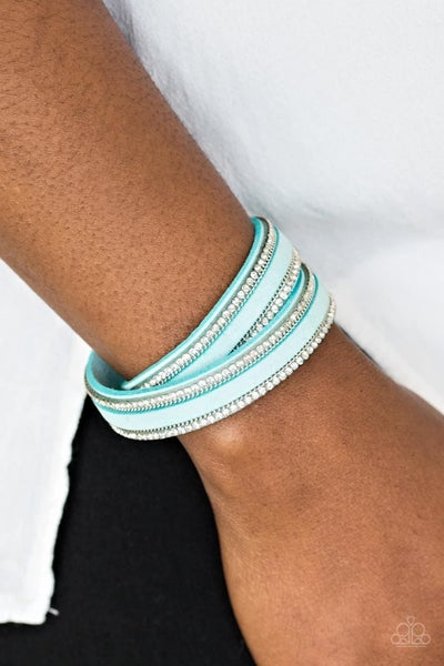 Going For Glam - Blue Snap Wrap