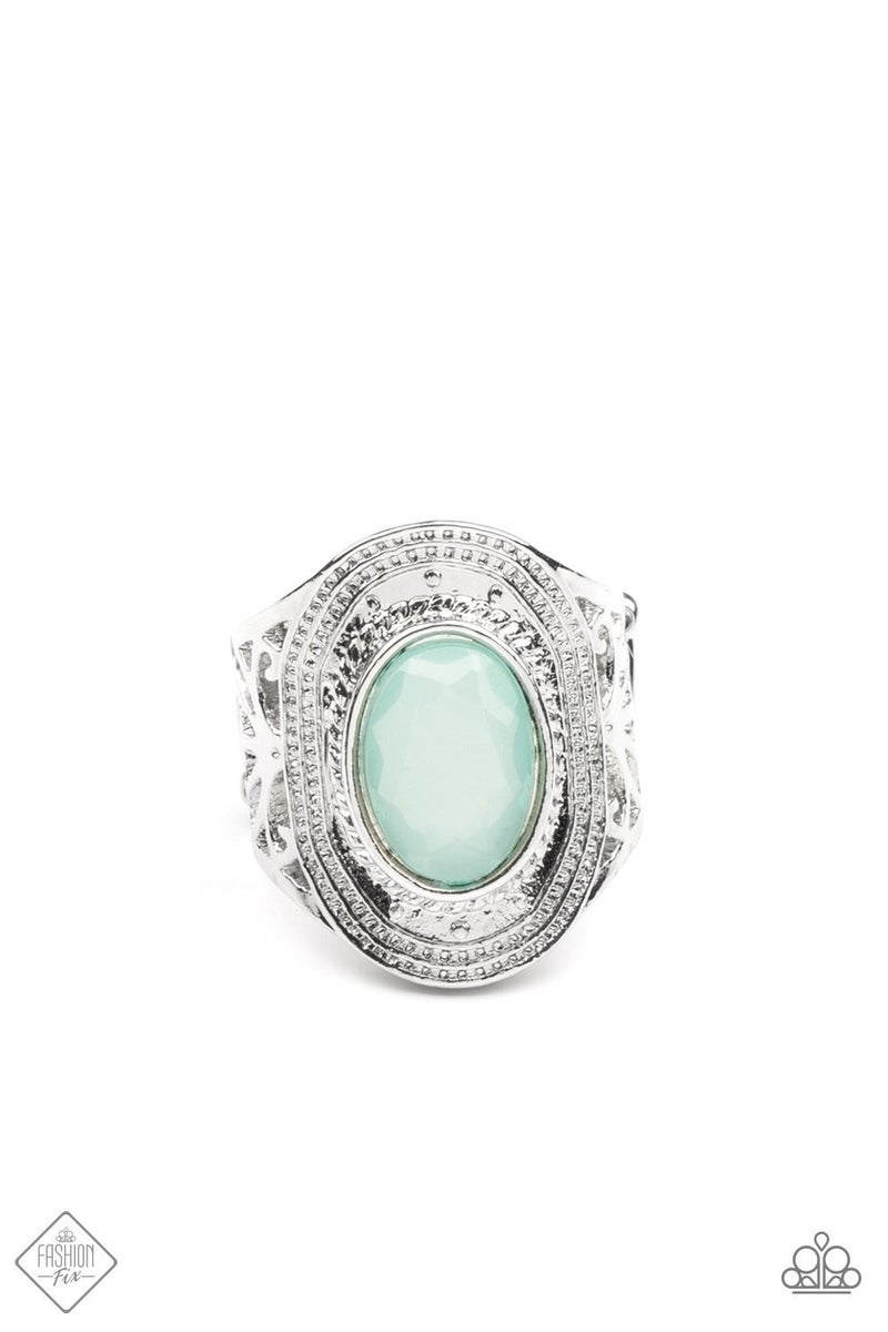 Calm And Classy - Blue Ring - May 2021 Fashion Fix