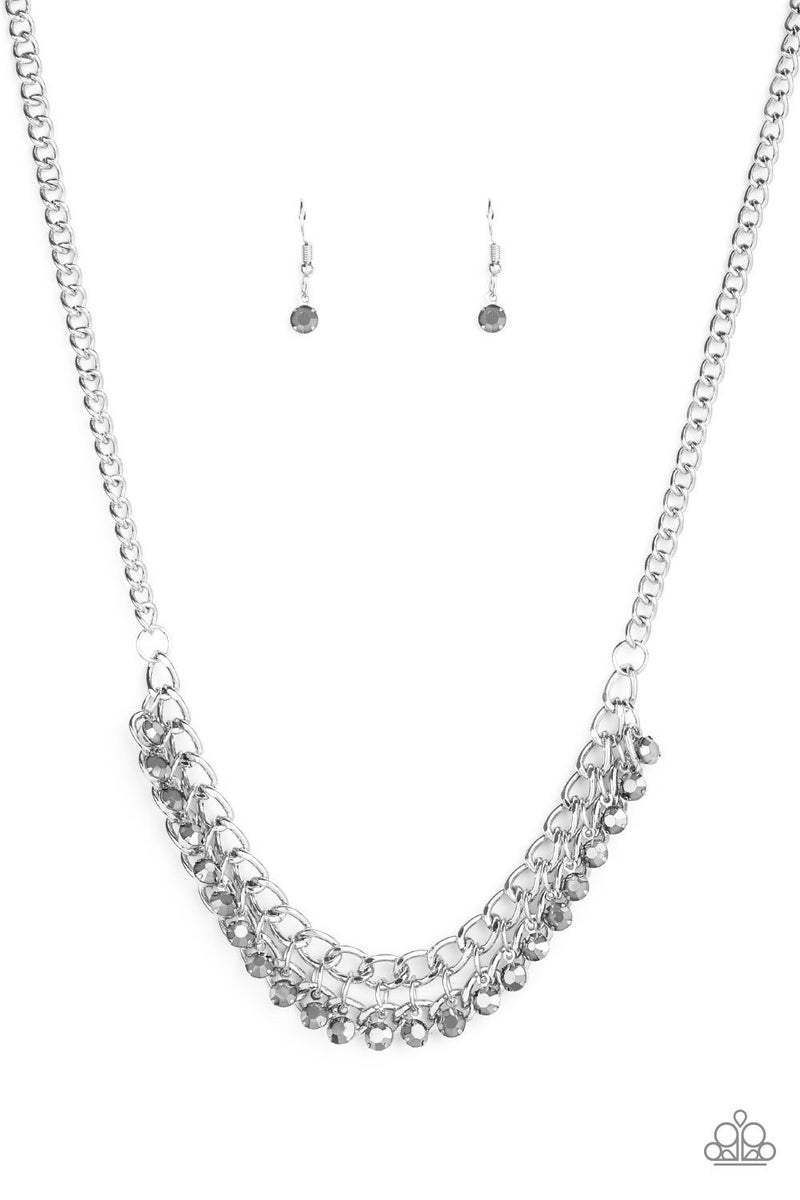 Glow and Grind - Silver Necklace